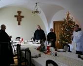 Koleda w klasztorze