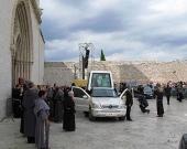 Benedykt XVI wAsyzu - 17 VI .2007